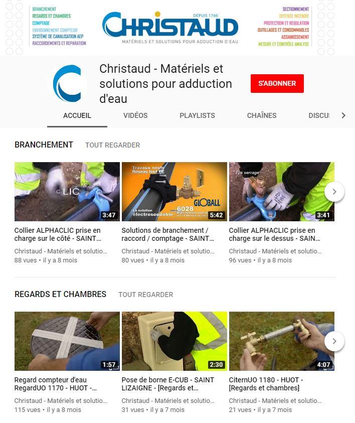 Vidéos pour les métiers de l'eau sur smartphone
