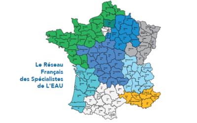 Le Réseau Français des Spécialistes de l'EAU s'agrandit